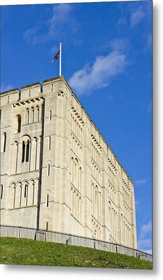 Norwich Castle Metal Print by Tom Gowanlock