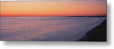 Ocean At Sunset, Provincetown, Cape Metal Print