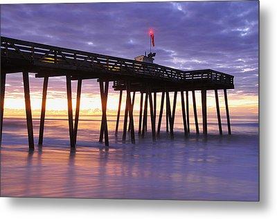 Ocean City Sunrise Metal Print by Dan Myers