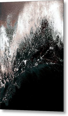 Ocean Series 34 Metal Print by Franco Timitilli
