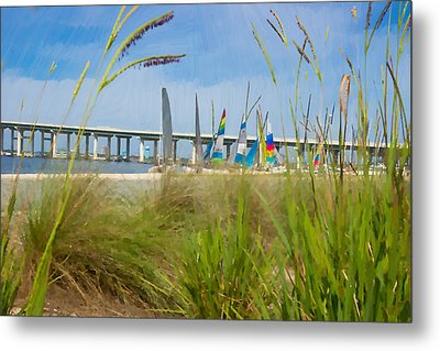 Ocean Springs Yacht Club Metal Print