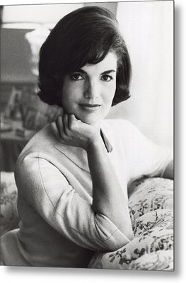 Official Photograph Of Jackie Metal Print by Underwood Archives