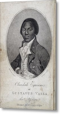 Olaudah Equiano Metal Print by British Library