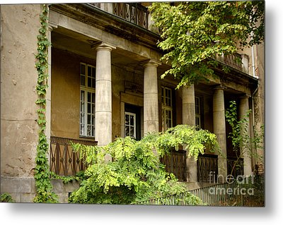 Metal Print featuring the photograph Old Hospital In Berlin Buch by Art Photography