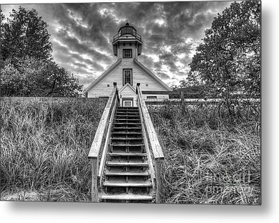 Old Mission Lighthouse Metal Print by Twenty Two North Photography