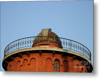 Metal Print featuring the photograph Old Observatory by Henrik Lehnerer