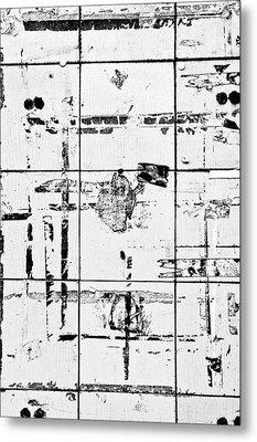 Old Tiles Metal Print