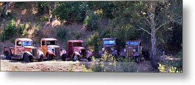 Oldtimers Rendezvous Metal Print by Lynn Bauer