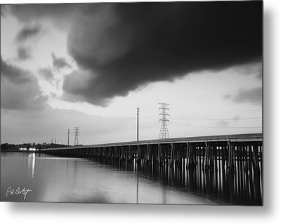 Ominous Cloud Metal Print by Phill Doherty