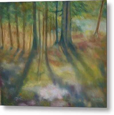 On Mossy Ground II Metal Print by Shirley Moravec