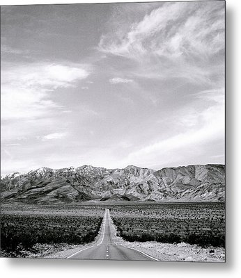 On The Road Metal Print by Shaun Higson