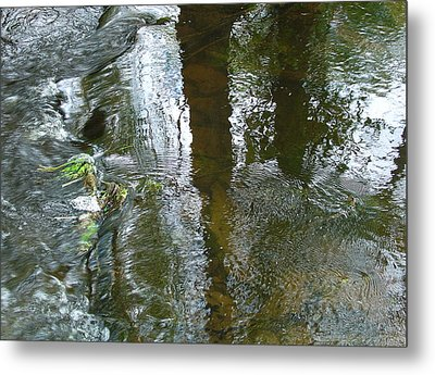 On Under And Through Metal Print