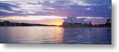 Opera House At The Waterfront, Sydney Metal Print