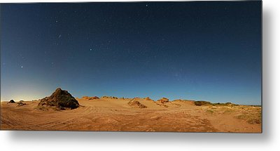 Orion Constellation Metal Print by Luis Argerich