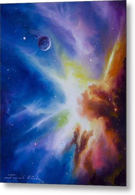 Origin Nebula Metal Print