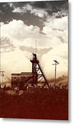 Metal Print featuring the photograph Orphan Girl Mine  by Kevin Bone