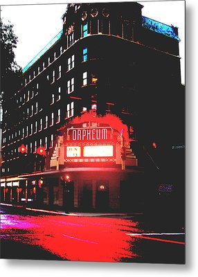 Orpheum Theater  Metal Print by Dana Patterson