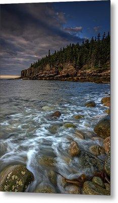 Otter Cliffs Metal Print by Rick Berk