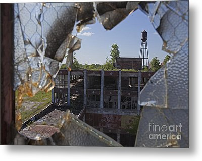 Metal Print featuring the photograph Packard Factory by Jim West