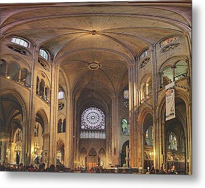 Paris France - Notre Dame De Paris - 01138 Metal Print