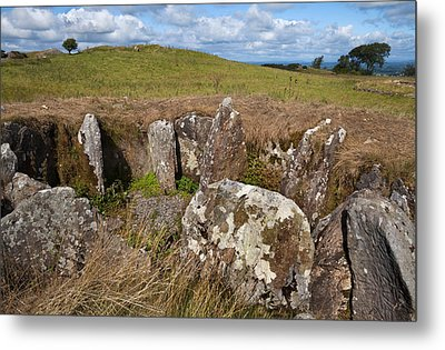 Passage Grave,carbane West, Loughcrew Metal Print by Panoramic Images