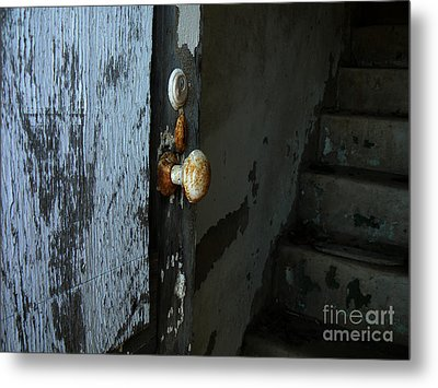 Past Age Passage Metal Print by Lin Haring