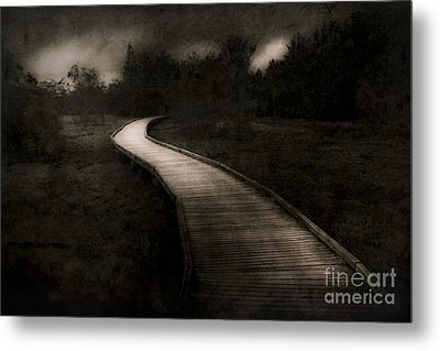 Path To The Unknown Metal Print by Jorgo Photography - Wall Art Gallery