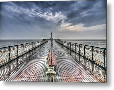 Penarth Pier 4 Metal Print