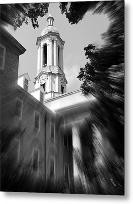 Penn State Old Main Metal Print