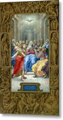 Pentecost Metal Print by Granger