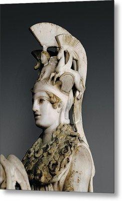 Phidias 490 -431 Bc. Varvakeion Athena Metal Print