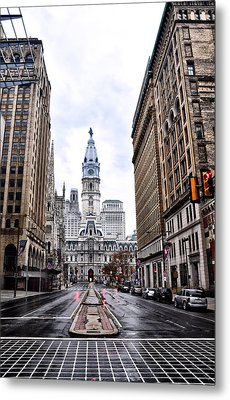 Philadelphia City Hall  Metal Print by Bill Cannon