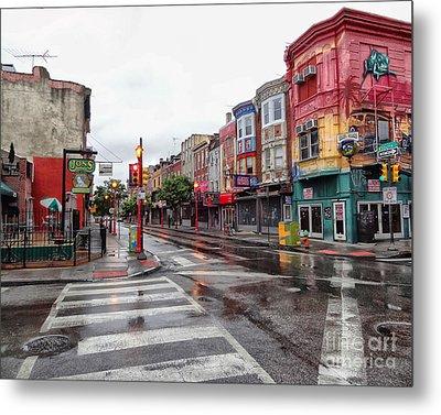 Philadelphia South Street 4 Metal Print by Jack Paolini