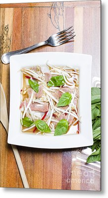 Pho Vietnamese Rice Noodle Soup Metal Print by Jorgo Photography - Wall Art Gallery