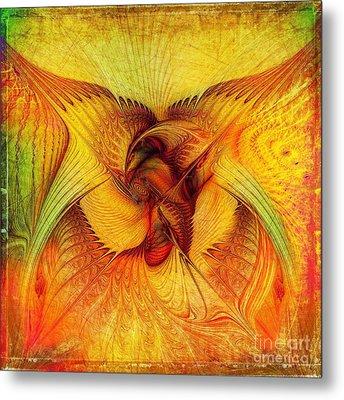 Phoenix Metal Print by Klara Acel