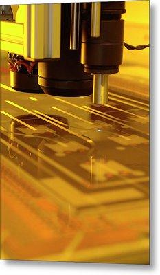 Photonics Polymer Metal Print