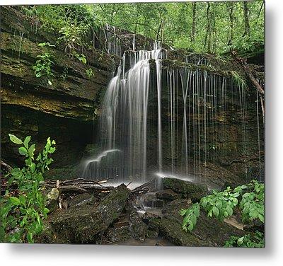 Pig Trail Falls Mulberry River Arkansas Metal Print