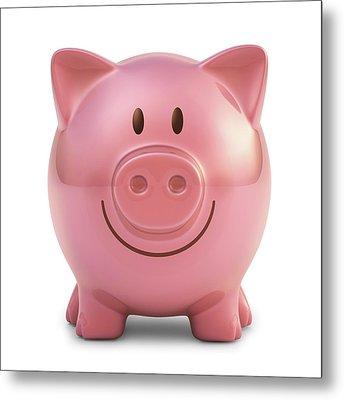 Piggy Bank Metal Print