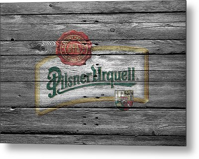 Pilsner Urquell Metal Print by Joe Hamilton