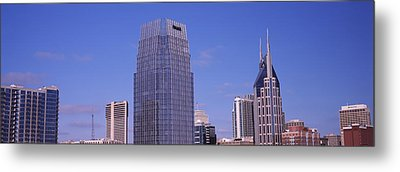 Pinnacle At Symphony Place Metal Print by Panoramic Images
