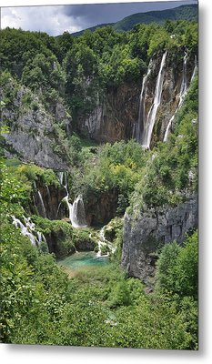 Metal Print featuring the photograph Plitvice Lakes National Park by Laura Melis