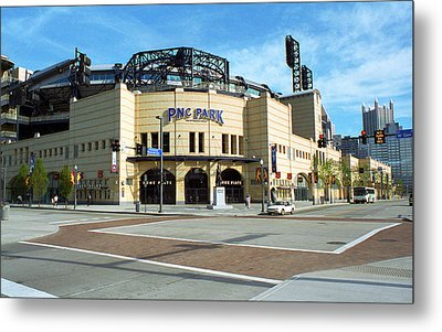 Pnc Park - Pittsburgh Pirates Metal Print by Frank Romeo