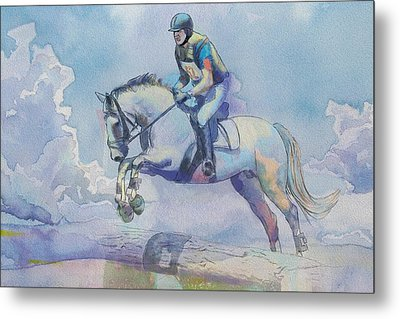Polo Art Metal Print