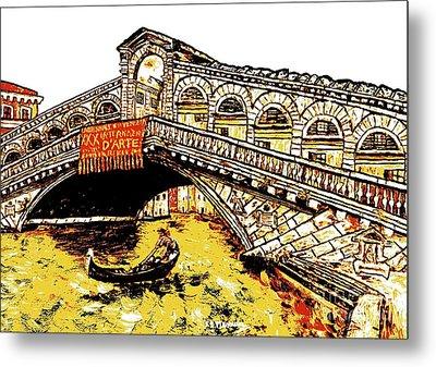 An Iconic Bridge Metal Print by Loredana Messina