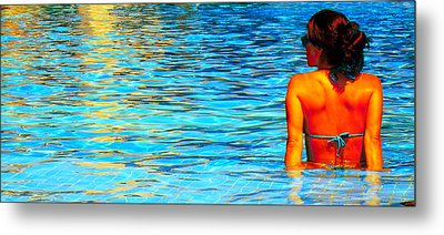Metal Print featuring the photograph Pool by J Anthony
