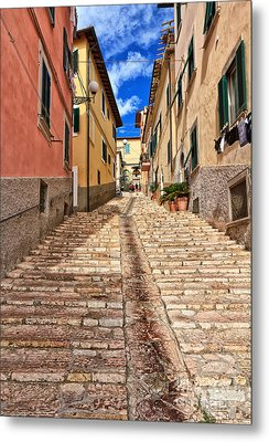 Portoferraio - Isle Of Elba Metal Print by Antonio Scarpi