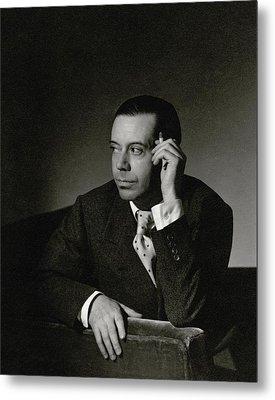 Portrait Of Cole Porter Metal Print by Horst P. Horst