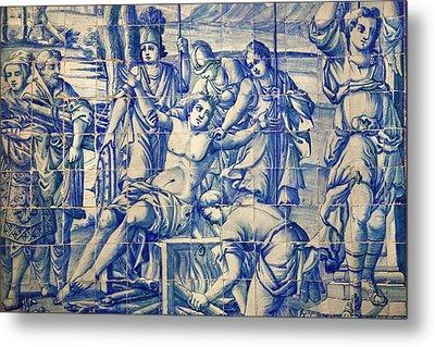 Portugal, Almancil Metal Print