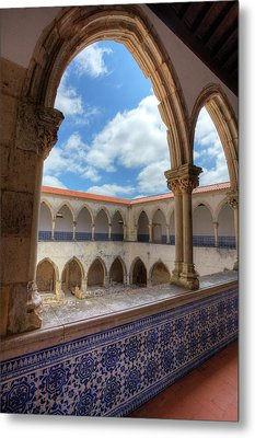 Portugal, Tomar, The Convent Metal Print by Terry Eggers