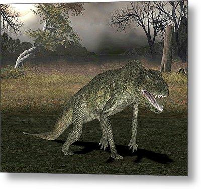 Postosuchus Dinosaur Metal Print